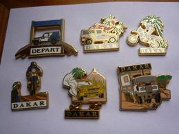 6 Pin S DAKAR Neuf - Badges