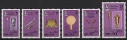Brunei (1982) Yv. 286/90  /   Jewelery - Art - Gold - Brunei (1984-...)