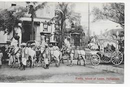 CPA  --   Philippines --  Manilia , Island Of Luzon -- Funérailles D'un Consul      --  B.E. - Philippines
