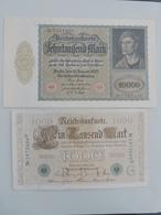 GERMANIE  LOT 2 BILLETS   P 72 1922 N  P 44  1960 C - [ 3] 1918-1933: Weimarrepubliek