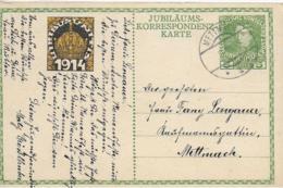 AK 0054  Jubiläums Korrespondenzkarte Kaiser Franz Joseph 1848-1908 - Viribus Unitis Um 1914 - Politische Und Militärische Männer