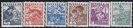 Osterreich  .   Yvert   .     453/458    .    *     .   Ungebraucht Mit Falz   .   /   .    Mint Hinged - 1918-1945 1. Republik