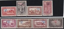 Maroc .   Yvert   .   153/160     .    **     .   Neuf SANS  Charniere   .   /   .   MNH - Neufs