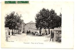 D04. CPA . PIERREVERT  . Place De La Terrasse . TB Animation - Autres Communes