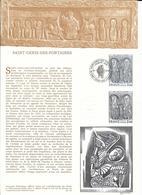 DOCUMENT OFFICIEL 3/76 SAINT GENIS DES FONTAINES - COTE 2009 = 9.00 € - Documents De La Poste
