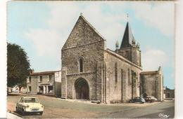 Longeville  Sur Mer -  L'Eglise  -  Automobile - Multivues - CPSM° - France