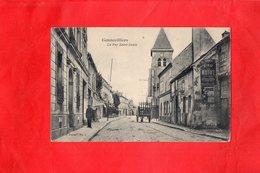 Carte Postale - GENNEVILLIERS - D92 - La Rue Saint Denis - Gennevilliers