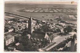 Noirmoutier - Vue Aerienne  - L'Eglise Et Le Port  - CPSM° - Noirmoutier