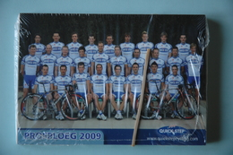 CYCLISME: EQUIPE QUICK STEP 2009   COMPLETE SOUS BLISTER - Cyclisme