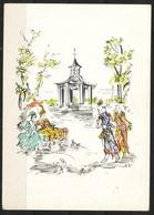 Ansichtskarte  -    Wilanow Antoni Uniechowski - Künstlerkarten