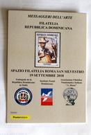 ITALIA 2018, MAXICARD ESPOSIZIONE ARTE REPUBBLICA DOMINICANA - Emissioni Congiunte