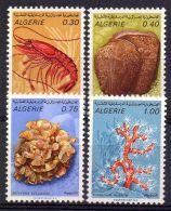 ALGERIE ( POSTE ) : Y&T N°  510/513  TIMBRES  NEUFS  SANS  TRACE  DE  CHARNIERE . - Algeria (1962-...)