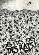 Illustrateurs - Illustrateur Govin - Les Rats - Rat - Vous êtes Tous Des Rats ! - Autographe - Signature - Ilustradores & Fotógrafos