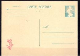 France Entier Postal Type Semeuse Piel YT N° 1233 Superbe Variété Couleurs Inversées. Spectaculaire ! TB. A Saisir! - Entiers Postaux