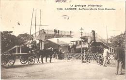 Dépt 56 - LORIENT - La Passerelle Du Cours Chazelles - (locomotive, Train) - La Bretagne Pittoresque - Lorient