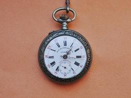 Ancienne MONTRE De GOUSSET LOUIS ROSKOPF S.A. Chemin De Fer - Watches: Bracket