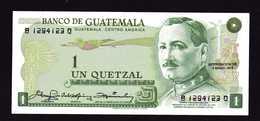 GUATEMALA  Billet NEUF De 1 Quetzal  3 1 1979  Quetzal   Immeuble De La Banque Gl J. M. Orellana - Guatemala