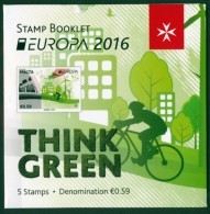 "MALTA EUROPA 2016 ""Think Green"" Booklet** - 2016"