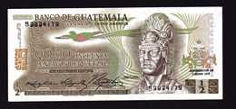 GUATEMALA  Billet NEUF De 1/2 Quetzal  7 1 1978  Quetzal  Tecun Uman ( Héro National ) Temple De Tikal - Guatemala