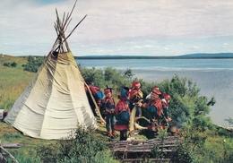 Lappi Lappland , Folklore Costume - Finlandia