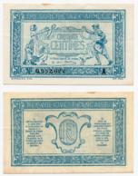 1917 // TRESORERIE AUX ARMEE // 50 Centimes // Série A - Treasury