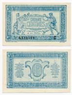 1917 // TRESORERIE AUX ARMEE // 50 Centimes // Série C - Treasury