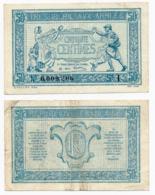 1917 // TRESORERIE AUX ARMEE // 50 Centimes // Série I - Treasury