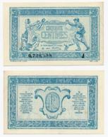 1917 // TRESORERIE AUX ARMEE // 50 Centimes // Série J - Treasury