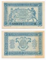 1919 // TRESORERIE AUX ARMEE // 50 Centimes // Série S - Treasury