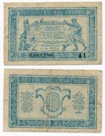 1919 // TRESORERIE AUX ARMEE // 50 Centimes // Série A1 - Trésor