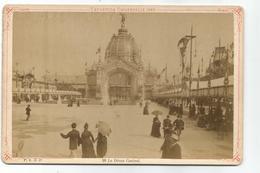 PHO.0553/ Exposition Universelle 1889 Paris - Le Dôme Central - F.K.&C° N°98 - Old (before 1900)