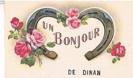 22  UN BONJOUR  DE  DINAN          TBE  SS788 - Dinan