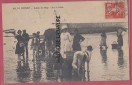 76 - LE TREPORT----Scenes De Plage--Sur Le Sable---animé - Le Treport