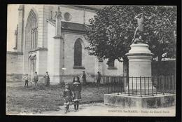 Cpa 02935 Longueil Sainte-marie Statue Du Grand Ferré  , Enfants - Autres Communes