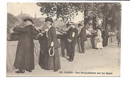 """75-PARIS-Beau Plan Animé Des """" BOUQUINISTES """" Sur Les Quais - Autres"""