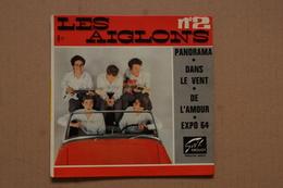 LES AIGLONS PANORAMA EP 1963 VALEUR +POCHETTE VOITURE - 45 T - Maxi-Single