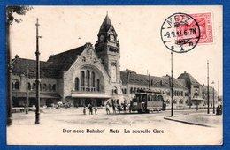 Metz / La Nouvelle Gare / Der Neue Bahnhof - Metz