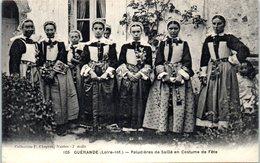 44 - GUERANDE -- Paludiers De Saillé En Costume De Fête - Guérande