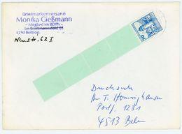 Nr 918 Rollenmarken Endmarke Mit 4 Leefeldern EF Fernbrief - BRD