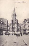 """DISON   """"L'Eglise """" Nels  Circulée  1928 ! Personnages   (voir Scans ) - Dison"""