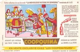 VP-GF.18 -.735 : BUVARD. LE  COOPQUINA. AU QUINQUINA. LOUIS XIV - Buvards, Protège-cahiers Illustrés