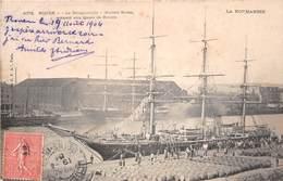 ROUEN - Le Bougainville (navire école) Accosté Aux Quais De Rouen - Rouen