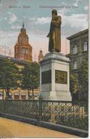 ALLEMAGNE-MAINZ A Rhein Gutenbergdenkmal Und Dom-MO - Mainz