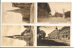 59  TOURCOING Lot De 4 Cartes - Tourcoing