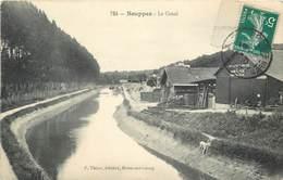 SOUPPES - Le Canal, Transport Par Eau Gaston Leveau. - Souppes Sur Loing