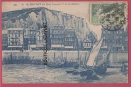 76 - LE TREPORT--Quai François 1° Et Les Falaises - Le Treport