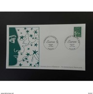 France FDC 2002 Marianne 1,02 - 2000-2009
