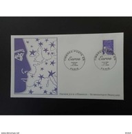 France FDC 2002 Marianne 2 - 2000-2009