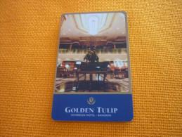 Thailand Bangkok Golden Tulip Hotel Room Key Card - Hotel Keycards