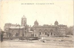 """Dépt 59 - DUNKERQUE - Le Leugenaer (Leughenaer) Et Le Minck - Cachet Marine Nale """"Chef Du Service De La Reconnaissance"""" - Dunkerque"""